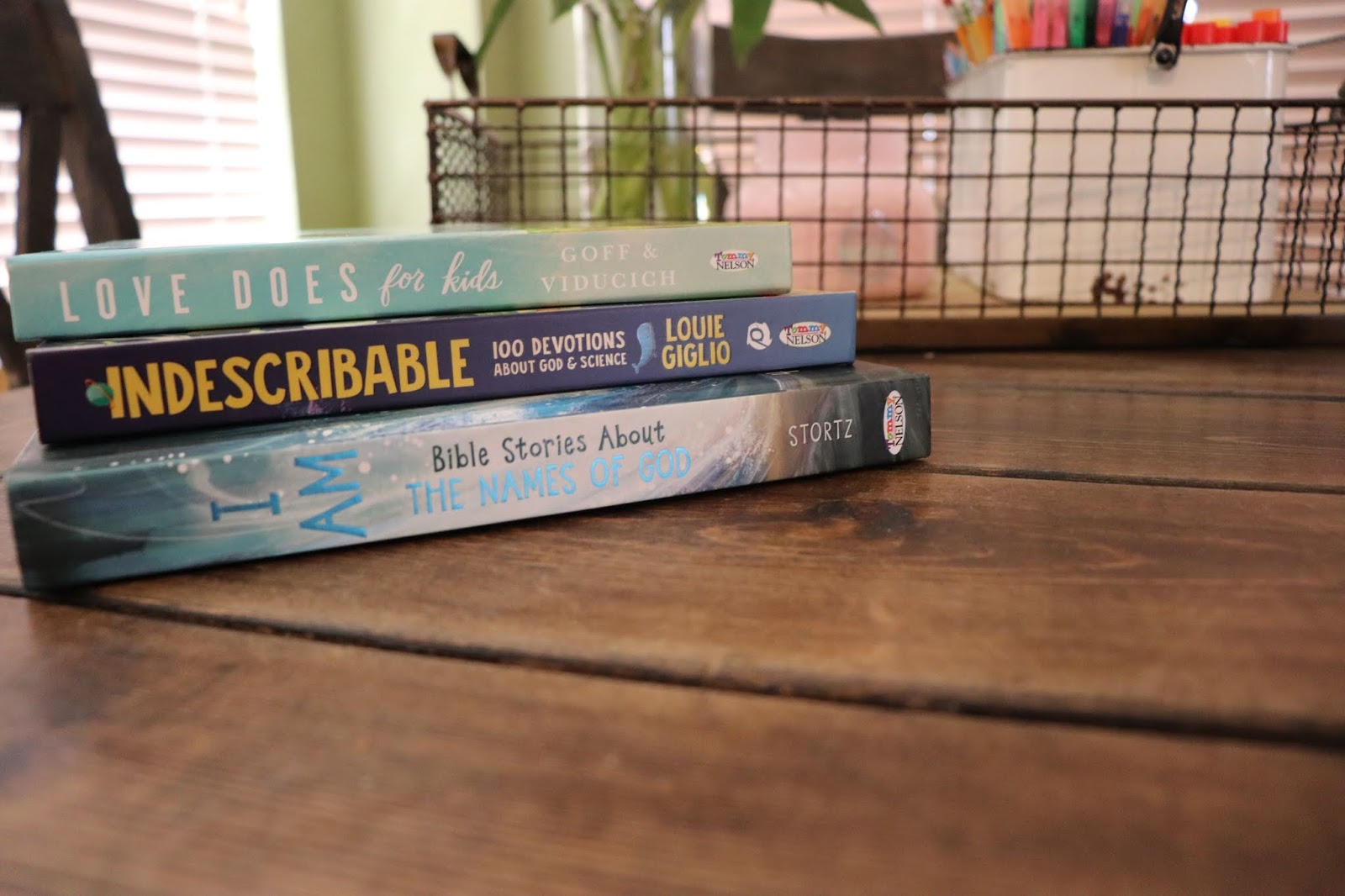 Momfessionals: Faith-based books for kids