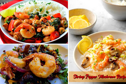 Shrimp Pepper Mushroom recipe