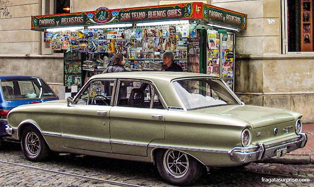 Fileteado, arte decorativa típica de Buenos Aires, Argentina
