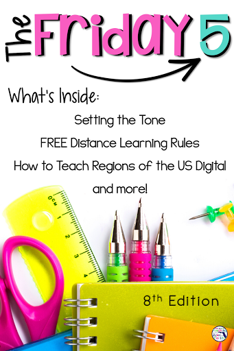 Keep up to date on teaching strategies, education news, free resources, and more with this weekly post from Teaching in the Heart of Florida! This 8th edition is full of timely information that you can use right away - Setting the tone on the first day of school, FREE Distance Learning Rules, How to Teach Regions of the U.S., Summer PD, and How to be Kind to Yourself. Check it out! #BTSPlanning #FREEBIE #Classroom Expectations