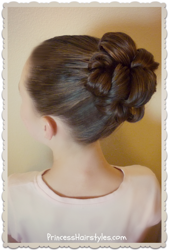 Topsy Tail Bun Tutorial Hairstyles For Girls Princess Hairstyles - Hairstyle bun tutorials