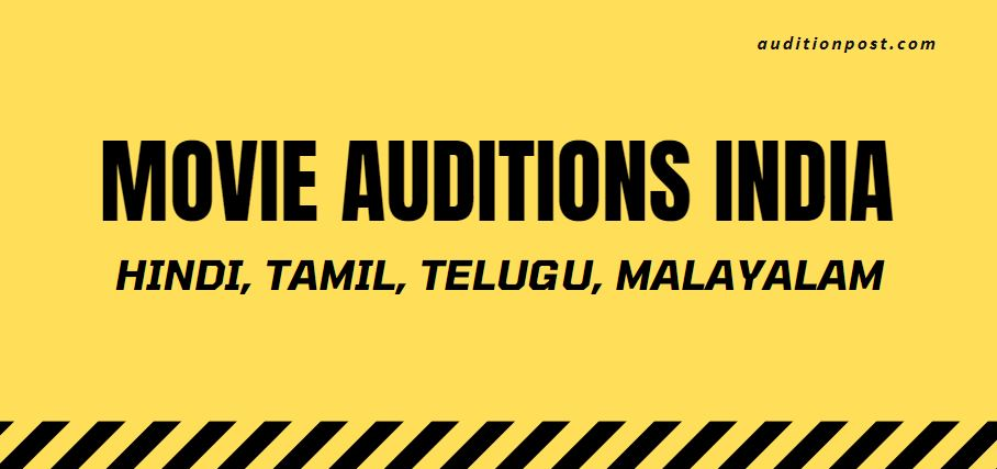 movie auditions india