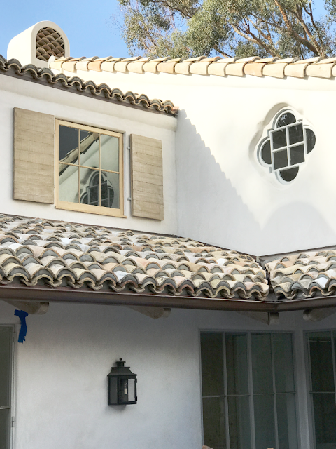 image result for exterior roof Malibu Mediterranean Modern Farmhouse Giannetti Home