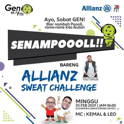SENAMPOOOLL Allianz Sweat Challenge