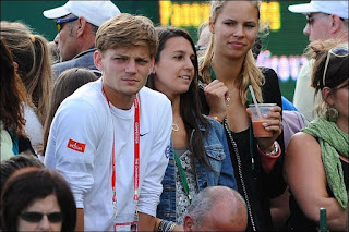 David Goffin Girlfriend Stephanie Tuccitto Photo