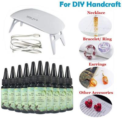 UV Resin DIY Kit from Amazon Reviews