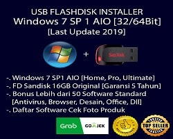 USB Flashdisk Installer Windows 7 + Software