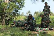 Di Kebumen, Prajurit Kostrad Pertajam Kemampuan dengan Latihan Menembak
