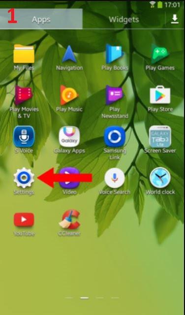 فتح التطبيقات على هاتف الأندرويد
