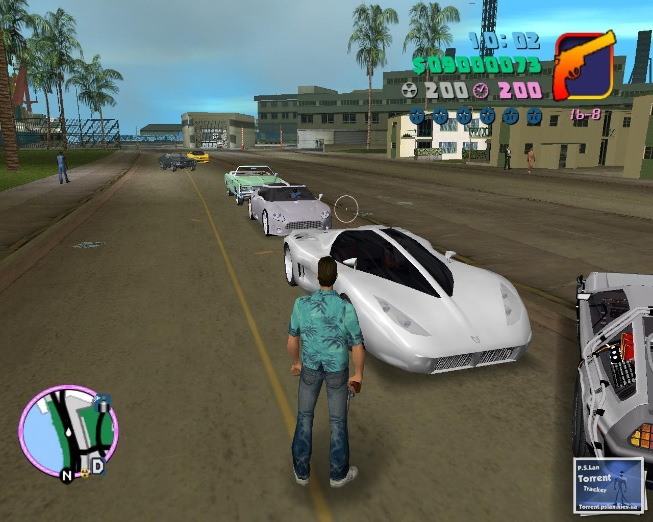 Gta Vice City Back To The Future Hill Valley Free Full
