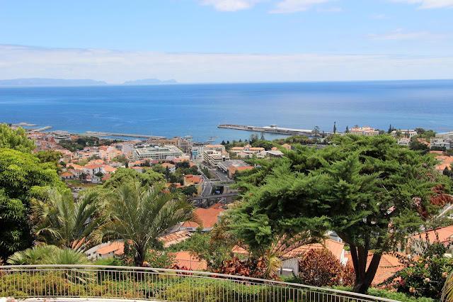 a view from hotel Quinta das Vistas