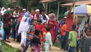 Maulid Tradisional Di Sungai Sambang Dihadiri Dewan Fraksi Golkar Long Amin