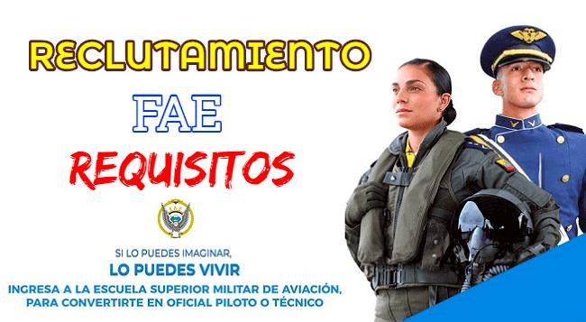 Si tu sueño es pertenecer a esta gloriosa institución y ser parte de las damas y caballeros del aire FAE fuerza aérea ecuatoriana esta es tu oportunidad para postular, a continuación podrás conocer toda la información del reclutamiento.