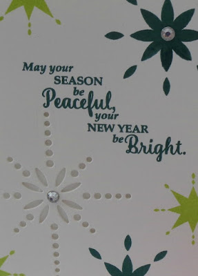 Stampin' Up! UK Independent  Demonstrator Susan Simpson, Craftyduckydoodah!, Star of Light, November Coffee & Cards Project 2017, Supplies available 24/7 from my online store,