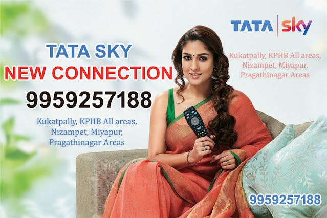 tata sky new connection Hyderabad