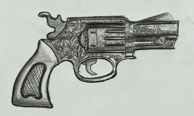 Dibujos Lapiz De Pistola