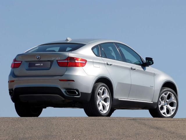 BMW X6M 2010 - recall
