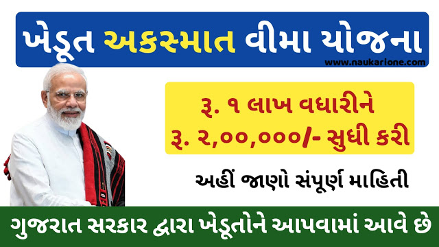 Khedut Akasmat Vima Yojana Gujarat Form