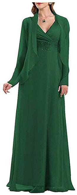 Good Quality Green Mother of The Groom Dresses