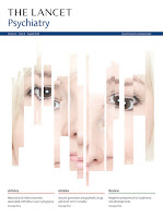 Image of the front cover of The Lancet Psychiatry