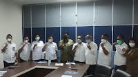 Bupati Samosir Koordinasi Prasarana Pemukiman Dengan BPPWSU di Medan