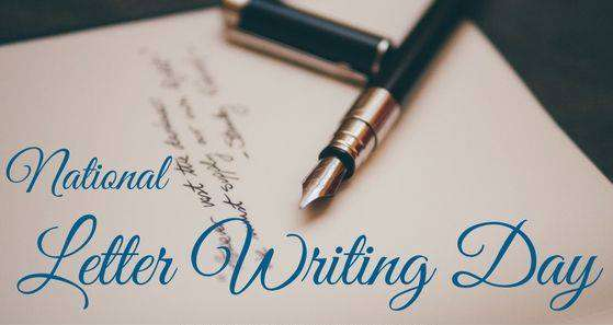 National Letter Writing Day Wishes Beautiful Image