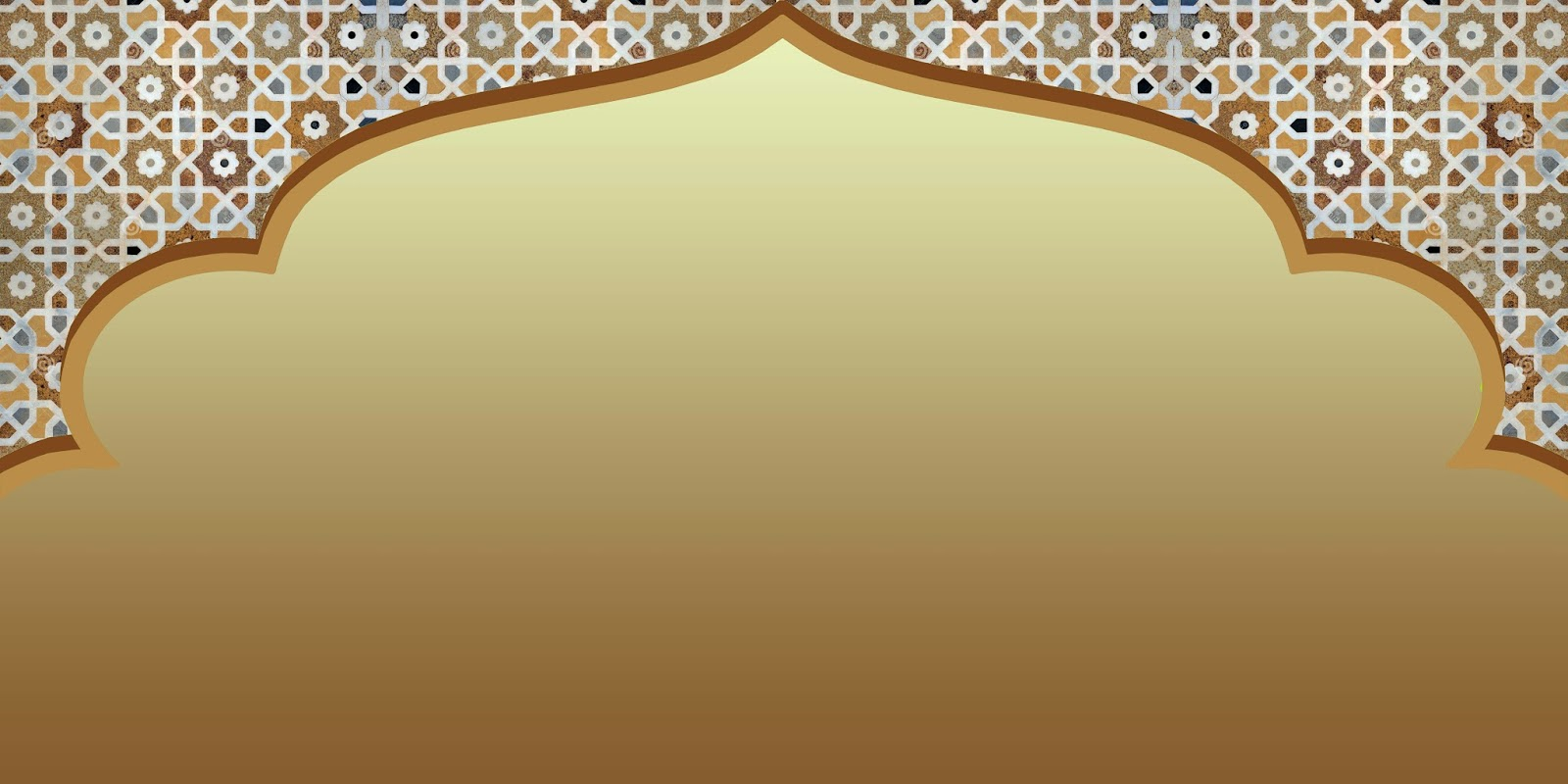 background islami gold