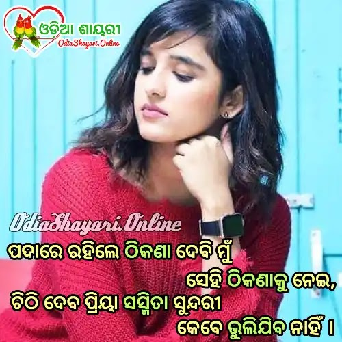 Share Your Love With Best HD Shayari Images in Odia Language