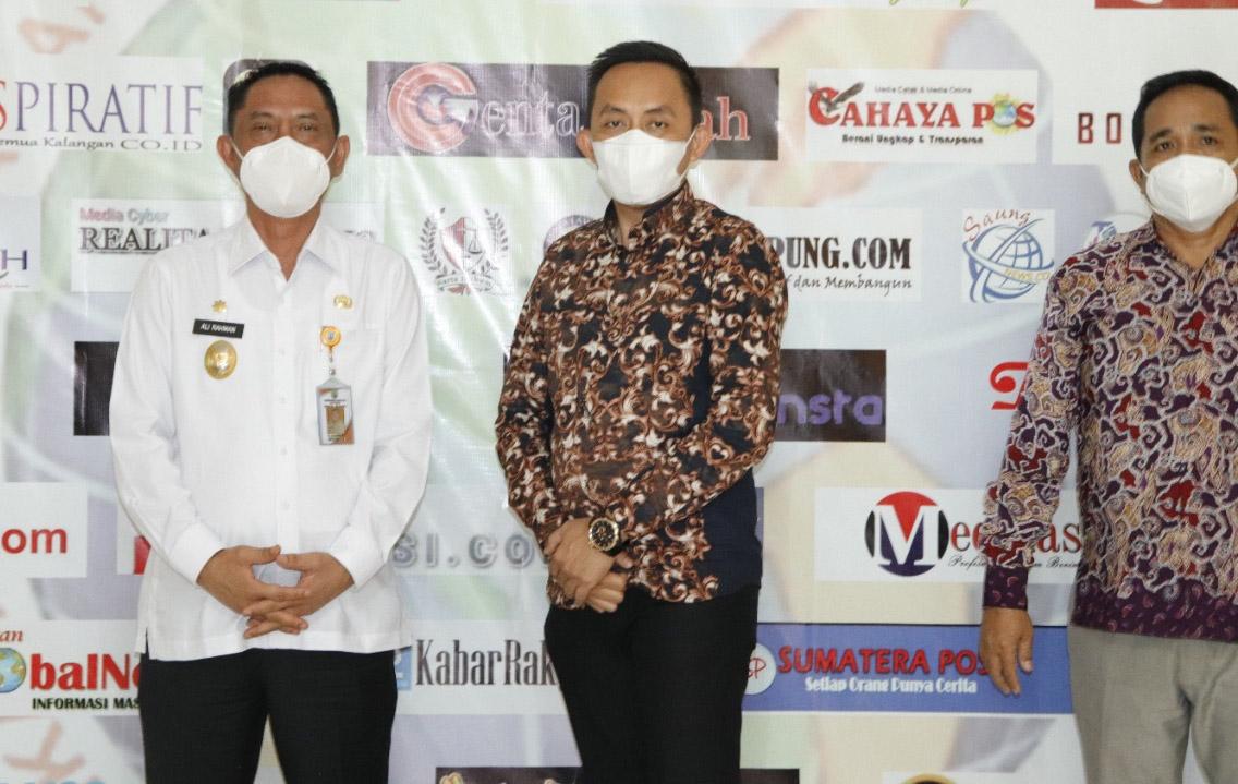 Wabup Waykanan  Sambut Kedatangan PW dan LBH IWO Lampung
