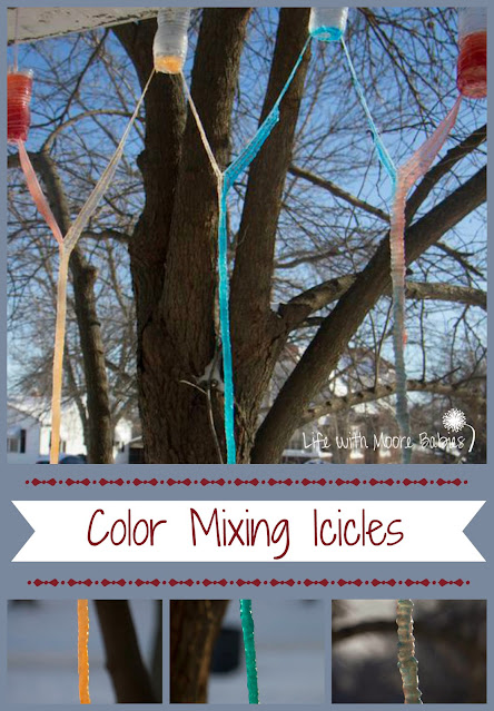 Color Mixing Icicles
