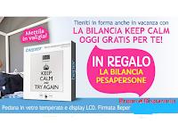 Logo Casa Henkel ti regala la bilancia ''Keep Calm'' con display LCD