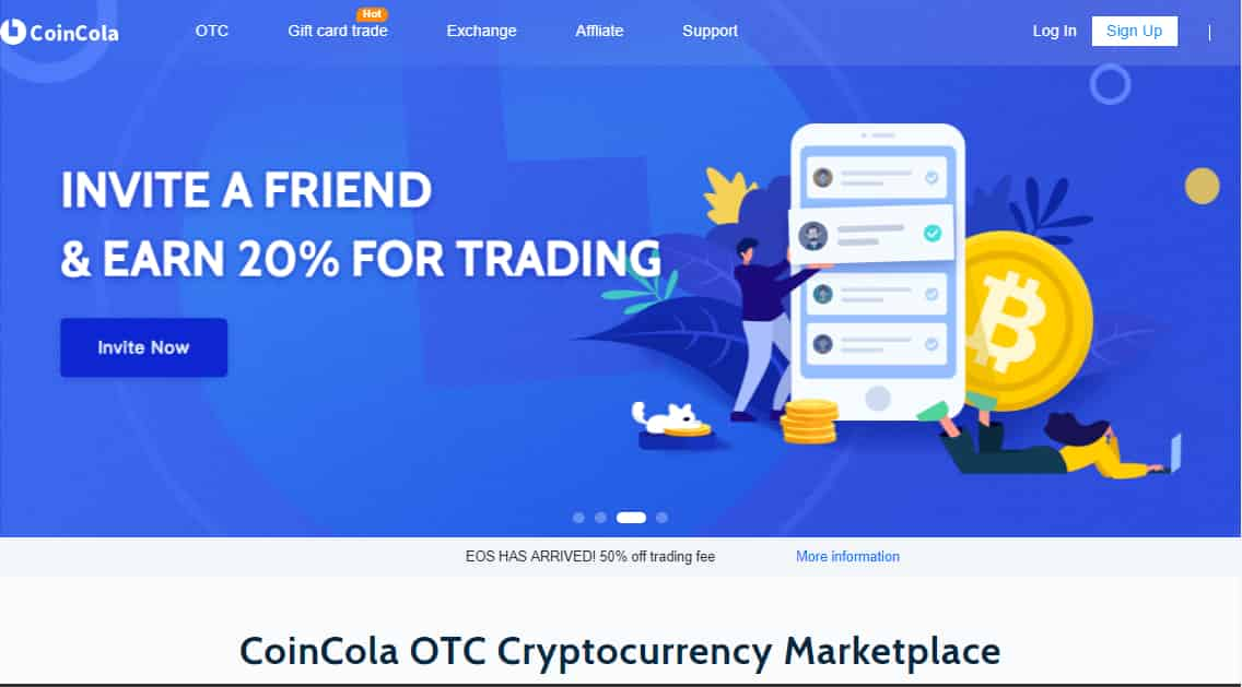 Buy and sell BTC, ETH, USDT, EOS, BCH, LTC, DASH and XRP with traders near you