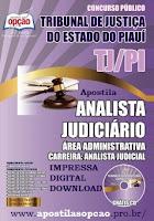 apostila Concurso Tribunal de Justiça - PI 2015.