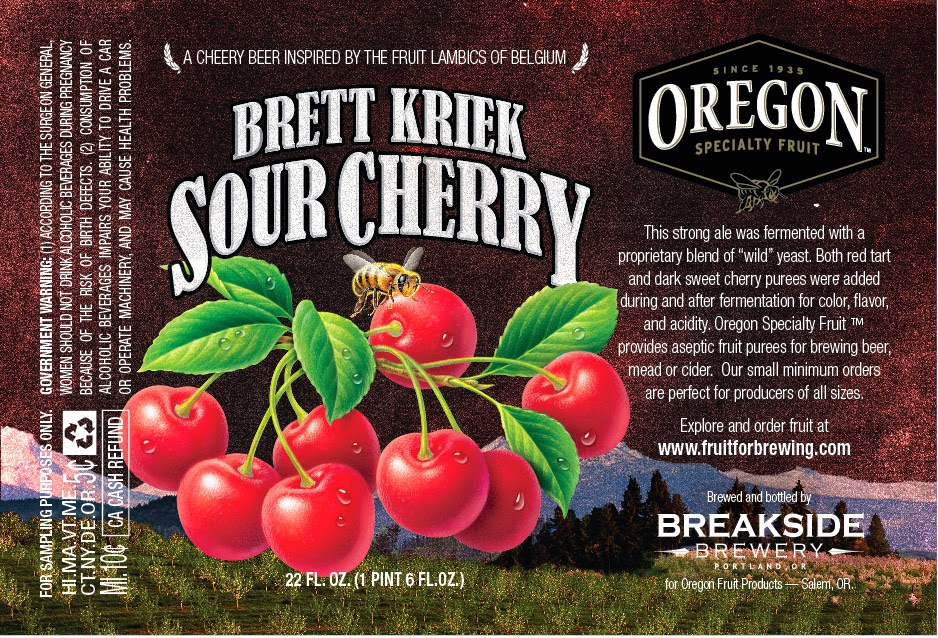 Oregon Fruit Products     - The Not So Professional Beer Blog