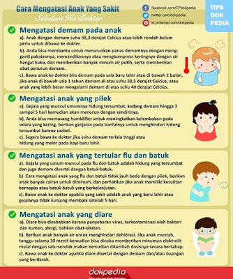 cara mengatasi anak yang sakit sebelum ke dokter