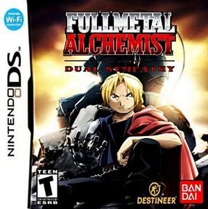 Rom Fullmetal Alchemist Dual Sympathy NDS