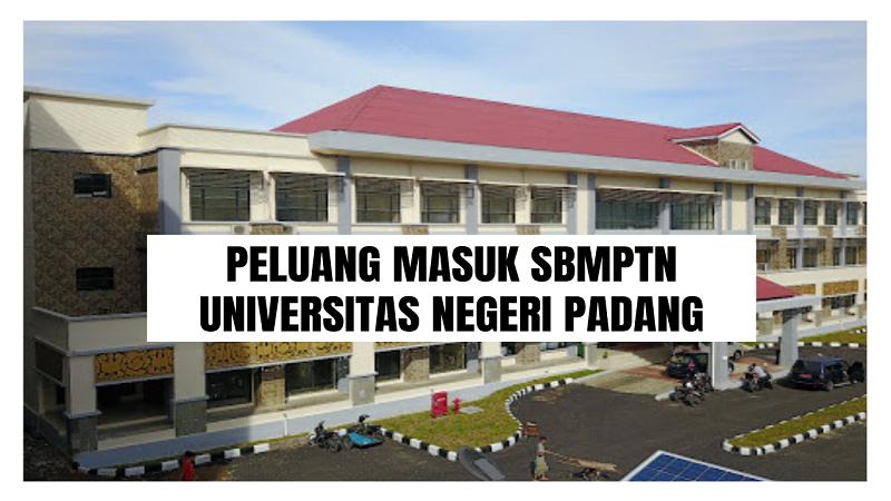 Peluang Masuk SBMPTN UNP 2021/2022 (Universitas Negeri Padang)