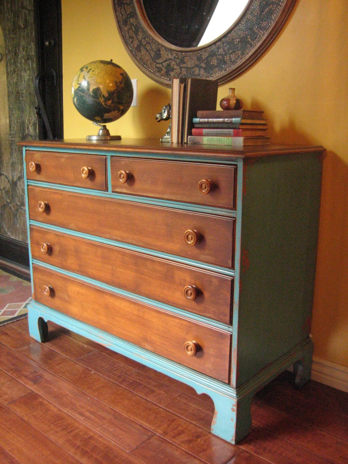 European Paint Finishes For Keeps Dresser