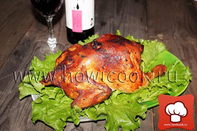 рецепт курицы-гриль в домашних условиях