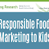 Responsible Food Marketing to Children #infographic