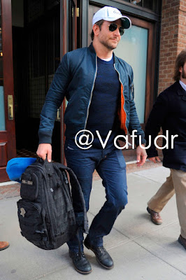 Bradley Cooper and 5.11 Tactical Rush24 backpack