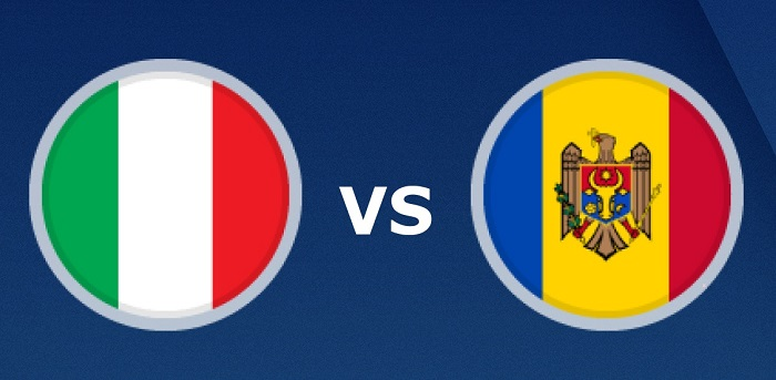 بث مباشر مباراة إيطاليا ومولدوفا