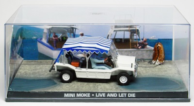 Autos a escala colección James Bond Mini Moke