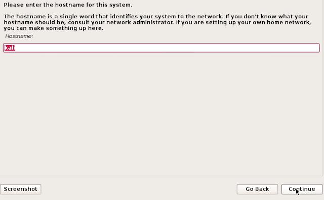 شرح تثبيت الكالي لينكس kali linux 2018 علي نظام وهمي