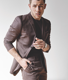 Nick Jonas does fashion photo spread for TopMan's That tailoring Issue Magazine. Details at JasonSantoro.com