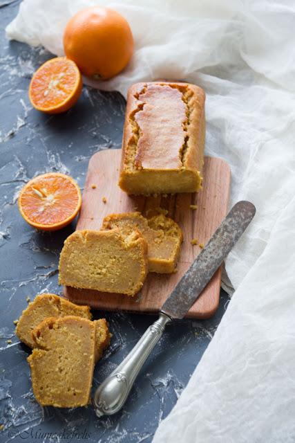 plumcake all'arancia senza lattosio