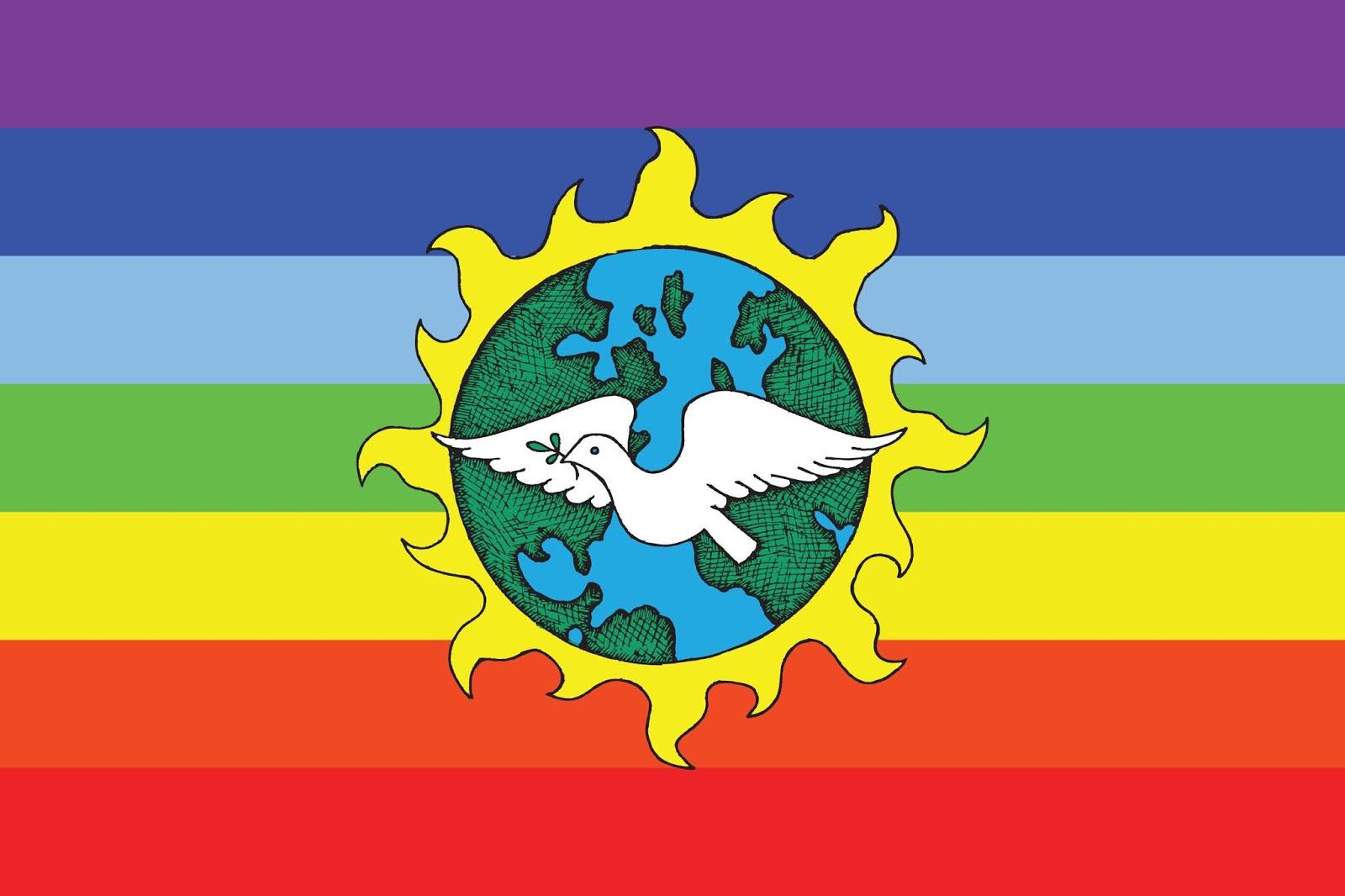 Rafael Jess Gonzlez The Universal Earth Justice Peace Flag