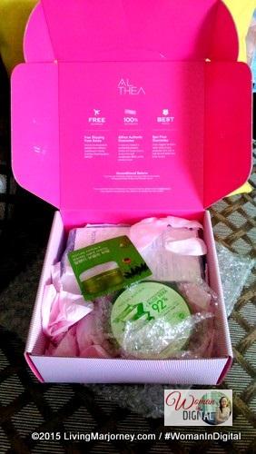 Althea Pink Box
