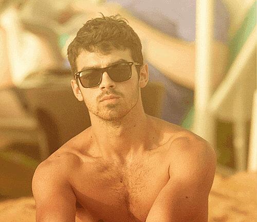 Chest Hair Watch W Joe Jonas Real Men Wear Fur