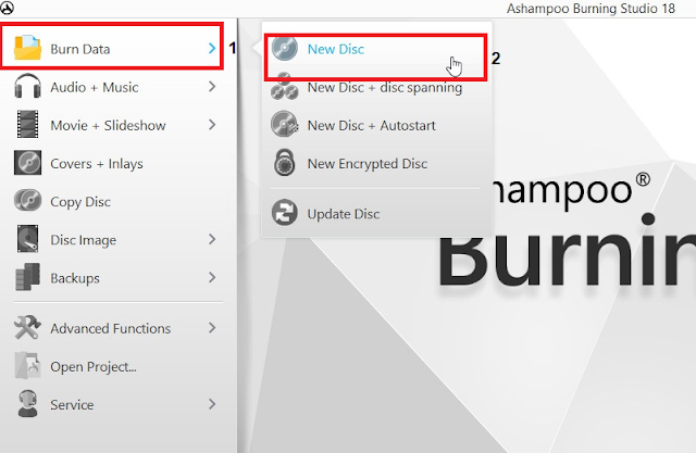Cara Burning File Ke CD/DVD Menggunakan Ashampoo Burning Studio Terbaru